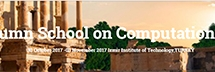 International Autumn School on Computational Number Theory